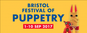Bristol Festival of Puppetry 2017 event logo