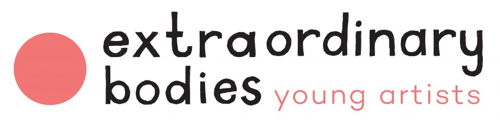 Extraordinary Bodies Young Artists logo