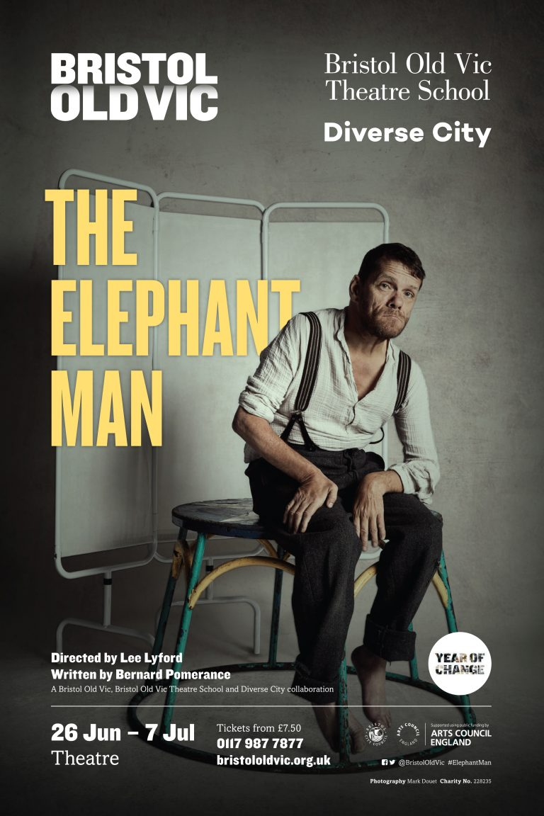 Show poster for The Elephant Man.